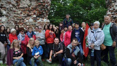 VIII Międzypokoleniowa Sztafeta Turystyczna na zamku w Bochotnicy